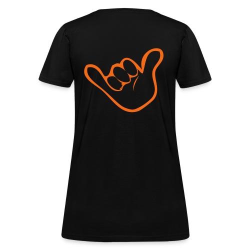 Orange ray shirt - Women's T-Shirt