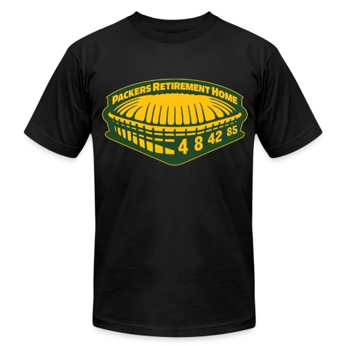 Packers Retirement Home Tee - Men's Fine Jersey T-Shirt