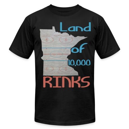 MN Rinks Tee - Men's  Jersey T-Shirt