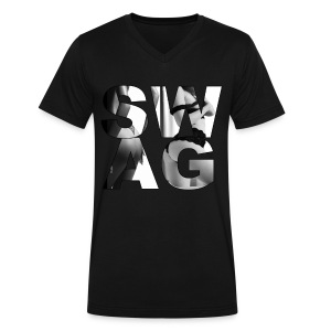Men's SWAG T-Shirt  - Men's V-Neck T-Shirt by Canvas