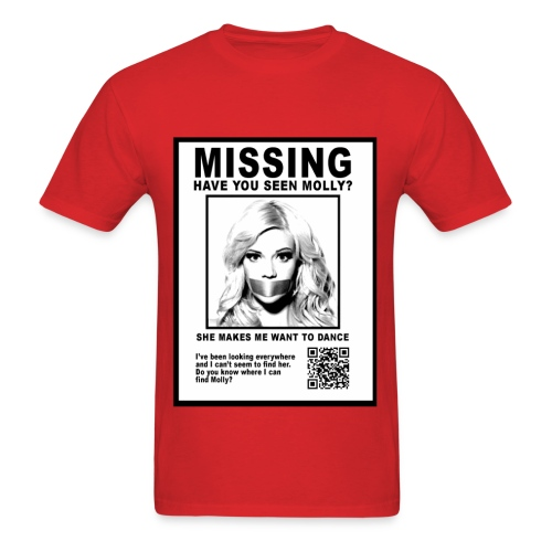 MISSING MOLLY - Men's T-Shirt
