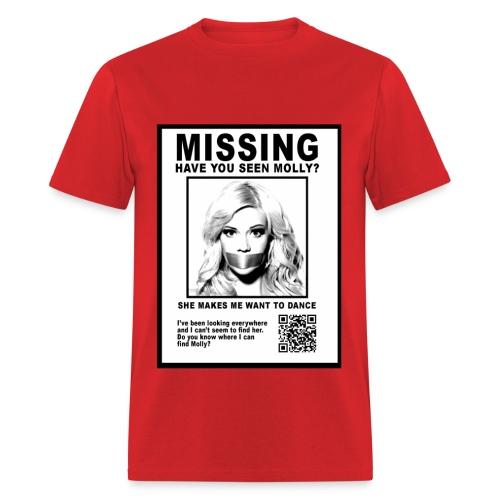 MISSING MOLLY - Men's T-Shirt