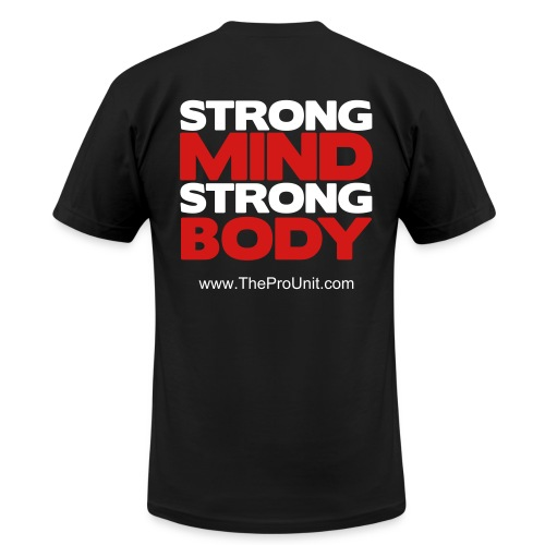 ProUnit Strong Mind Strong Body - Men's Fine Jersey T-Shirt