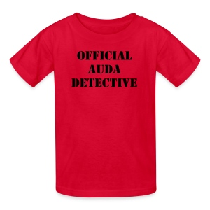 Official AUDA Detective Kid's Standard Shirt - Kids' T-Shirt
