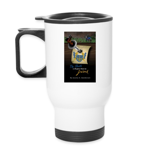The Sleuth is Mightier Than the Sword Mug - Travel Mug