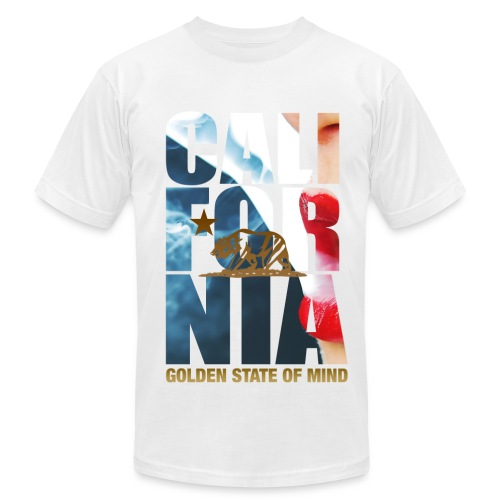 Golden State of Mind - Men's Fine Jersey T-Shirt
