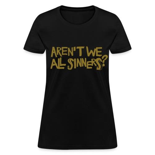 World of Sinners(Womens) - Women's T-Shirt