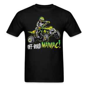Off-Road Maniac ATV Quad - Men's T-Shirt