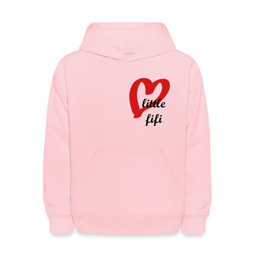 PINK CUTE FIFI Kids' Hooded Sweatshirt - Kids' Hoodie