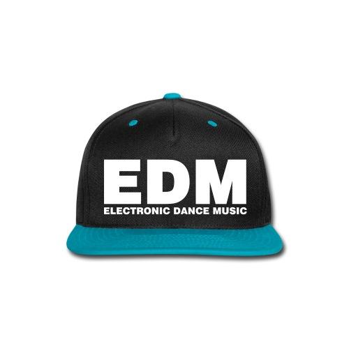 EDM snapback - Snap-back Baseball Cap