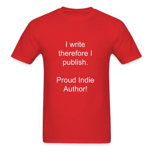 indie author - Men's T-Shirt