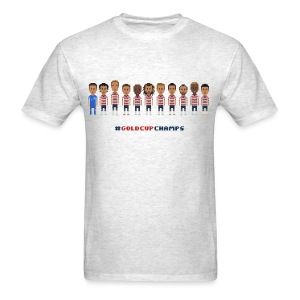 Men T-Shirt - USA Soccer 2013 #GoldcupChamps - Men's T-Shirt