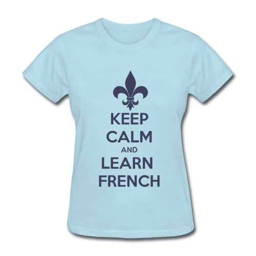 Calmez-vous! (femme) - Women's T-Shirt