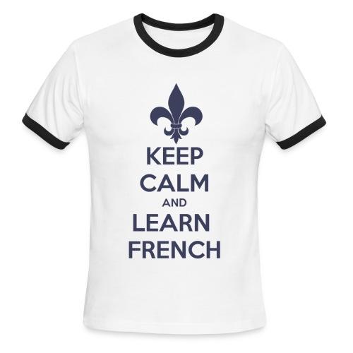 Calmez-vous! (homme) - Men's Ringer T-Shirt