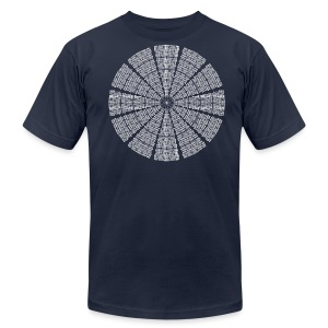 Astrodome Ceiling - Men's T-Shirt by American Apparel