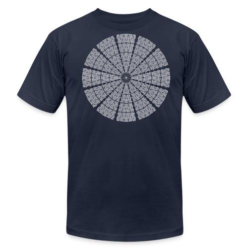 Astrodome Ceiling - Men's Fine Jersey T-Shirt