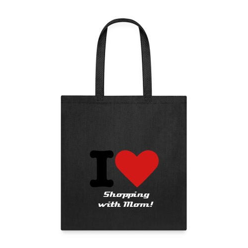 Tote Bag - The Ideal grocery bag to take with you when shopping with your dad!  Great gift for your children or grandchildren or anyone who loves shopping with dad.  Reusuable shopping bag.
