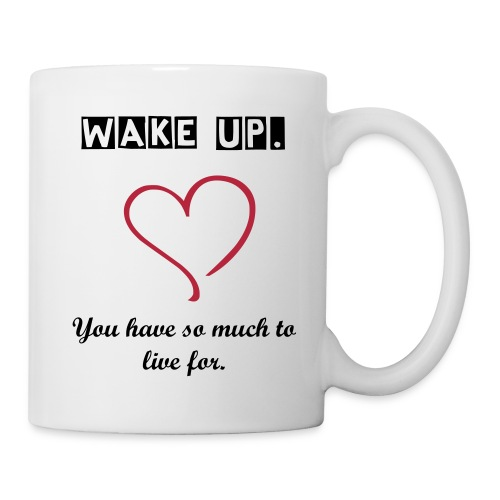 Wake Up Coffee Cup - Coffee/Tea Mug