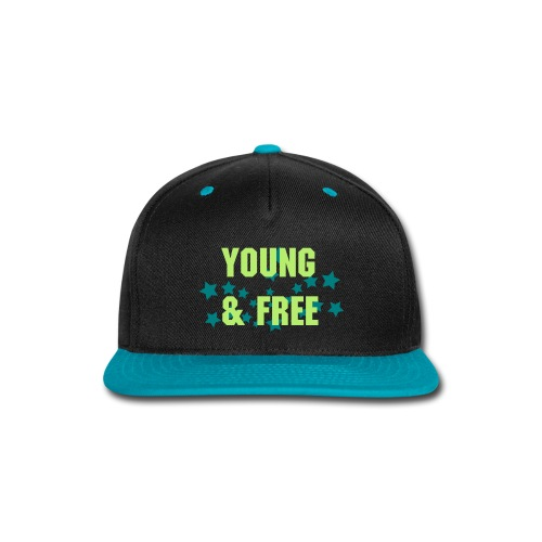 Young & Free Snapback - Snap-back Baseball Cap