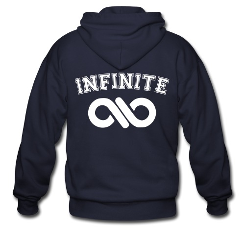 Infinite Varsity-Double sided  - Men's Zip Hoodie