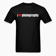 i love photography  T-Shirts