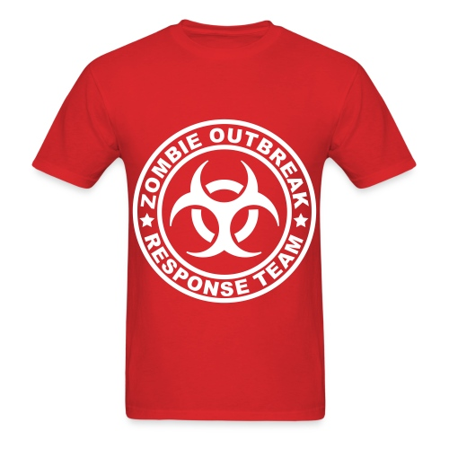 Men's Zombie Outbreak T-Shirt - Men's T-Shirt