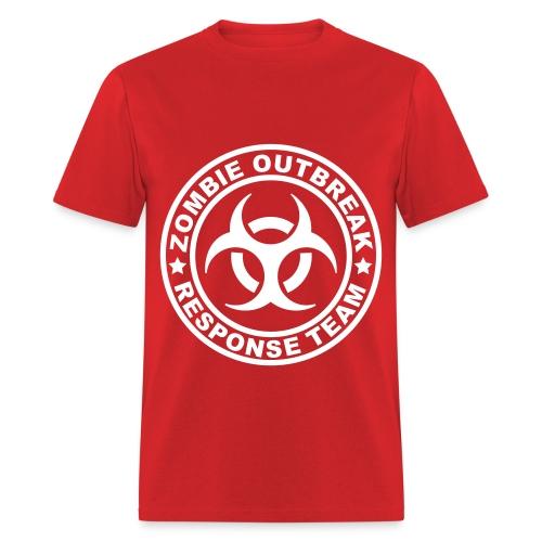 Men's Zombie Outbreak T-Shirt - Men's T-Shirt