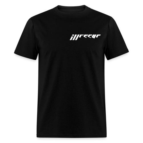 Men's double sided shirt (black - Men's T-Shirt