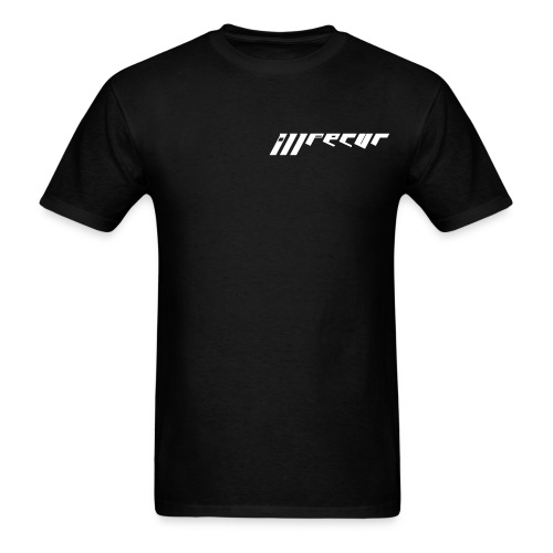 Men's double sided shirt (black - Men's T-Shirt