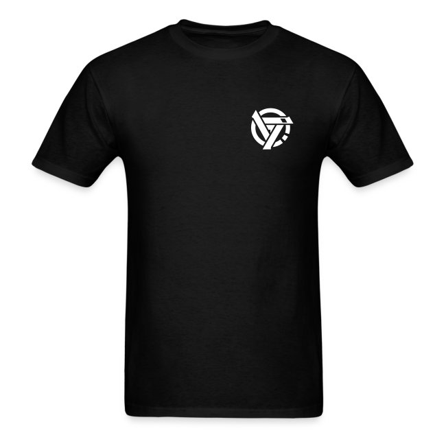 Men's double sided shirt (black)