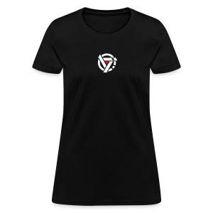 Women's double sided shirt (black) - Women's T-Shirt