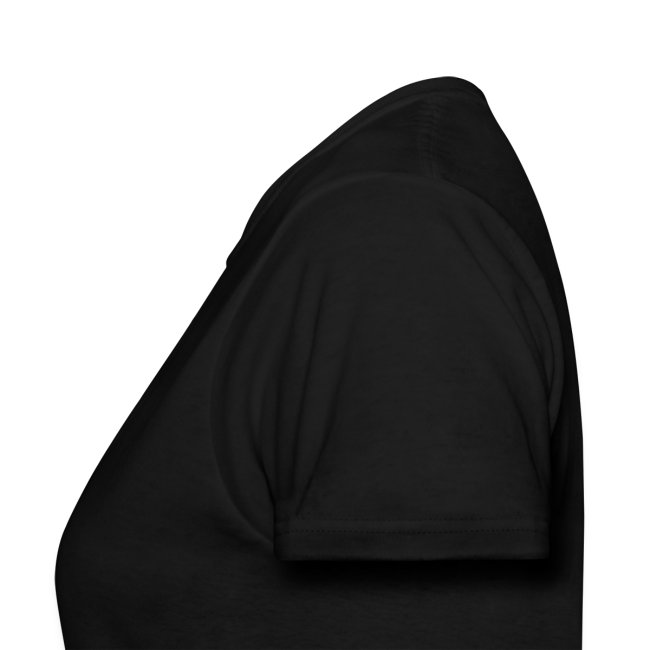 Women's double sided shirt (black)