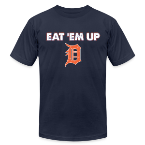 EAT 'EM UP - Men's T-Shirt by American Apparel