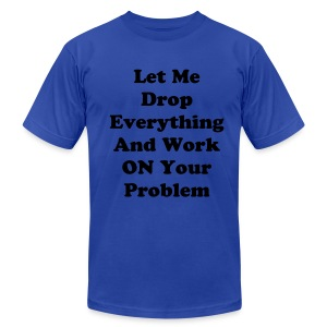 let me drop - Men's Fine Jersey T-Shirt