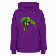 Fruits kiwi bird ostrich Schnepf Hoodies