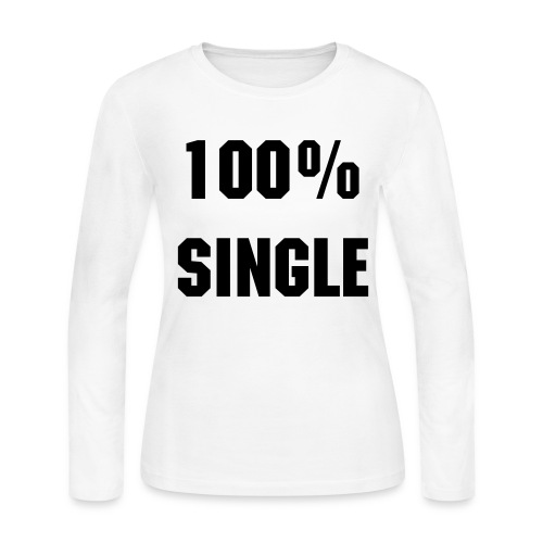 single - Women's Long Sleeve Jersey T-Shirt