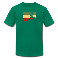 T-Shirts ~ Men's T-Shirt by American Apparel ~ Rasta Flag