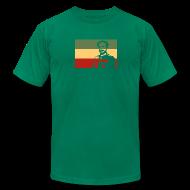 T-Shirts ~ Men's T-Shirt by American Apparel ~ Rasta Flag