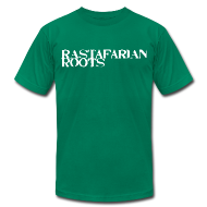 T-Shirts ~ Men's T-Shirt by American Apparel ~ Rastafarian Roots Logo