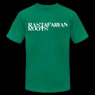 T-Shirts ~ Men's T-Shirt by American Apparel ~ Rastafarian Roots Logo