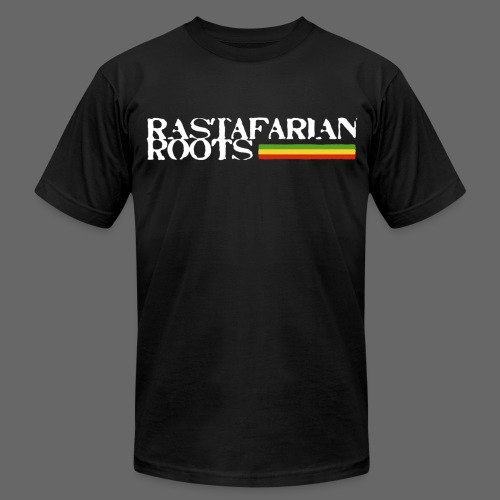 Rastafarian Roots Logo - Men's T-Shirt by American Apparel