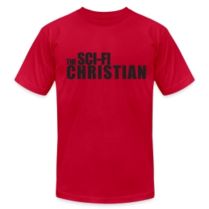 SFC Logo Shirt - Design 2 - Men's T-Shirt by American Apparel