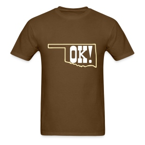 Official Oklahoma Shirt - Men's T-Shirt