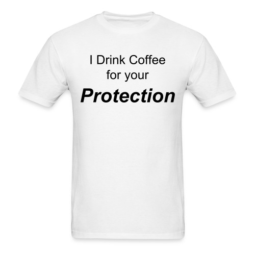 Coffee Shirt - Men's T-Shirt