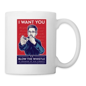 Edward Snowden - Whistleblower - Coffee/Tea Mug