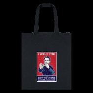 Bags & backpacks ~ Tote Bag ~ Edward Snowden - Whistleblower
