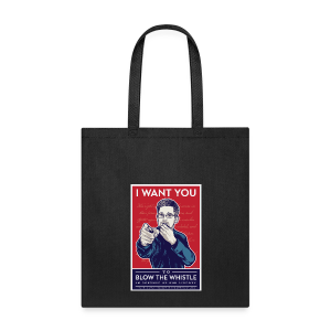 Edward Snowden - Whistleblower - Tote Bag