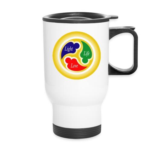 Three-in-One Heart Bottles & Mugs - Travel Mug