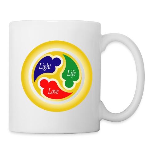 Three-in-One Heart - Coffee/Tea Mug