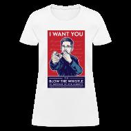 Women's T-Shirts ~ Women's T-Shirt ~ Edward Snowden - Whistleblower